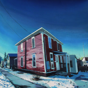 227 North Willard | Oil, 27in x 33in
