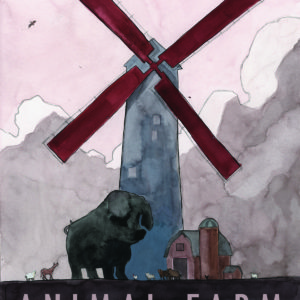 Animal Farm | gouache and digital