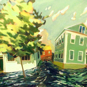 House 6 | Oil, 42in x 25in | sold