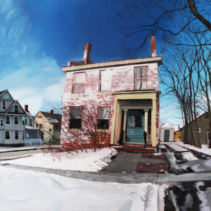 S. Winooski and Maple | Oil, 48in x 48in
